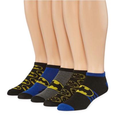 DC Comics® Batman 5-pk. Low Cut Socks