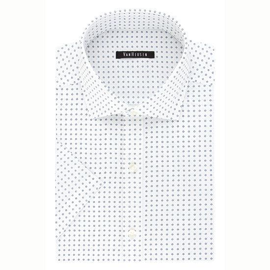 Van Heusen - Slim Mens Short Sleeve Wrinkle Free Dress Shirt