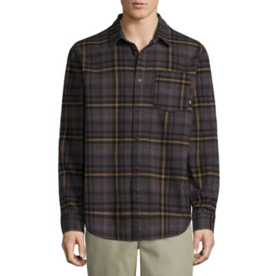 Vans Long Sleeve Button-Front Shirt