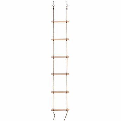 6 Steps Gymnastic Climbing Rope Ladder