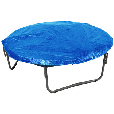 Economy Trampoline Weather Protection Cover  Fitsfor 12 FT. Round Frames - Blue