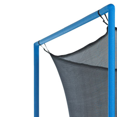 Upper Bounce Trampoline Replacement Enclosure Net-Fits For 12 FT. Round Frames- With Adjustable Straps- Using 4 Poles or 2 Arches - Net Only