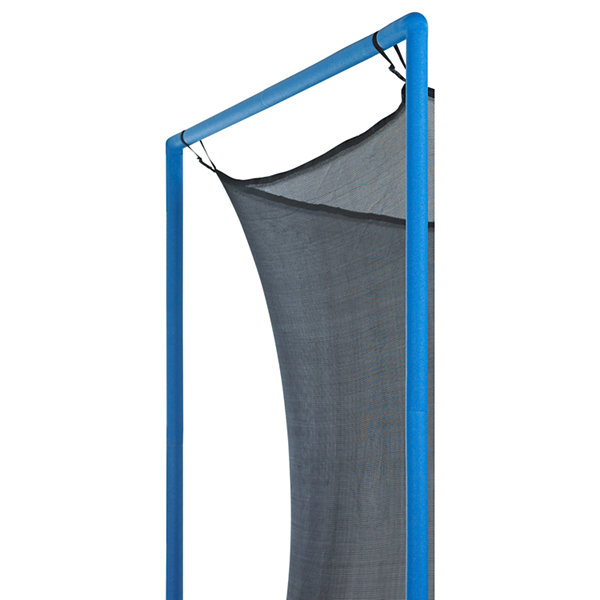Upper Bounce Trampoline Replacement Enclosure Net-Fits For 16 FT. Round Frames- With Adjustable Straps- Using 6 Poles or 3 Arches - Net Only