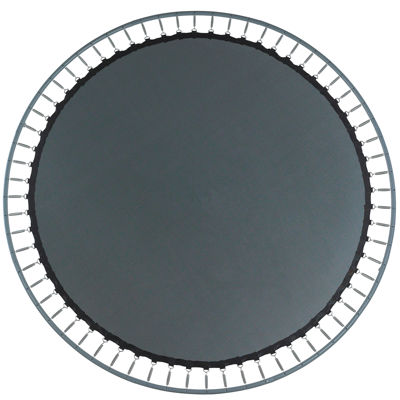 Upper Bounce Trampoline Replacement Jumping Mat- fits for 13 FT. Round Frames with 84 V-Rings- Using7Inch Springs -MAT ONLY