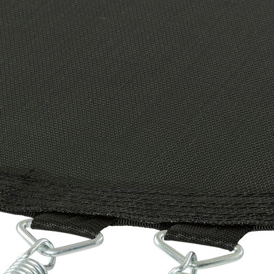 Upper Bounce Trampoline Replacement Jumping Mat- fits for 12 FT. Round Frames with 80 V-Rings-Using5.5Inch Springs -MAT ONLY