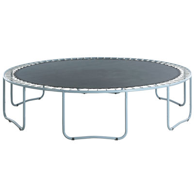 Upper Bounce Trampoline Replacement Jumping Mat- fits for 14 FT. Round Frames with 72 V-Rings- Using7Inch Springs -MAT ONLY