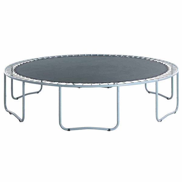 Upper Bounce Trampoline Replacement Jumping Mat- fits for 15 FT. Round Frames with 90 V-Rings- Using7Inch springs -MAT ONLY