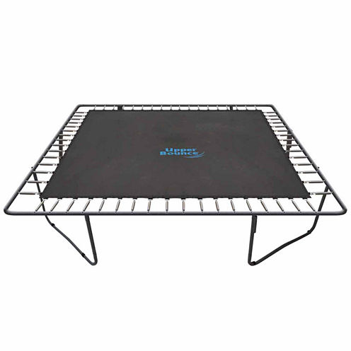 Upper Bounce Trampoline Jumping Mat- fits for 13fx 13f Square Frames with 84 V-Rings- Using 7.5Inchsprings -MAT ONLY