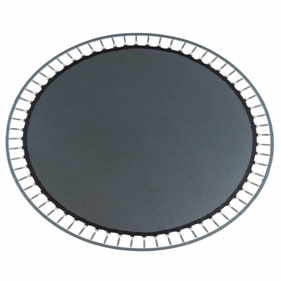 Upper Bounce Trampoline Replacement Jumping Mat- Fits for 16 x 14 FT. Oval Frames  with 96 V-Rings-Using 7Inch springs -MAT ONLY