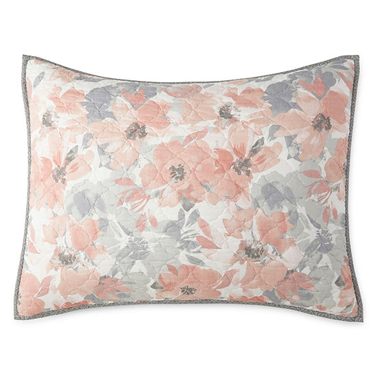 Home Expressions Emma Floral Pillow Sham