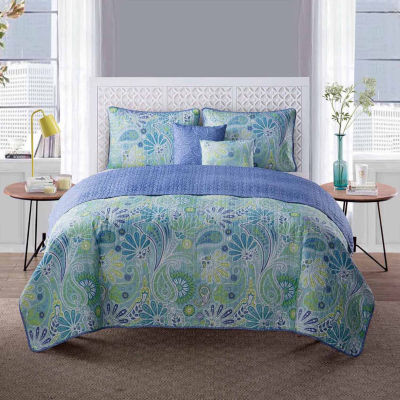 VCNY Harmony 5-pc. Quilt Set