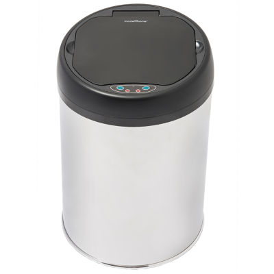 Motion Activated Stainless Steel Touch-Free Sensor Trash Can, 4 Gal