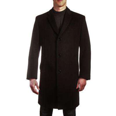 Jean Paul Germain Jeffrey Wool Blend Topcoat - Big & Tall