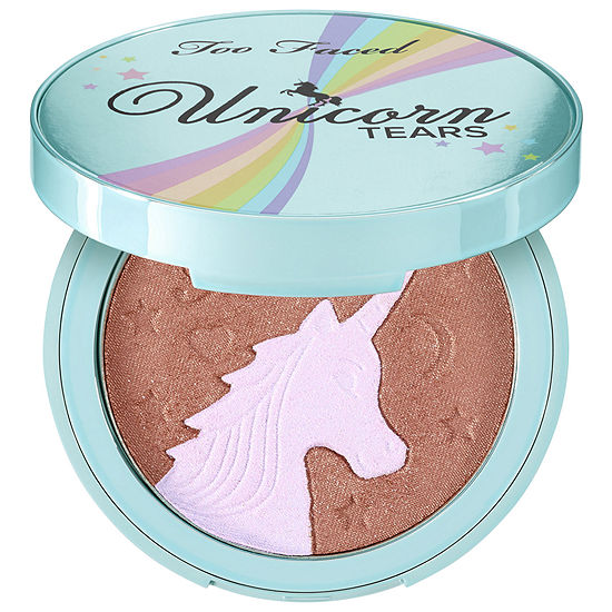Too Faced Unicorn Tears Bronzer – Life's A Festival Collection