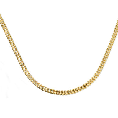 Made in Italy 14K Gold 20 Inch Link Chain Necklace