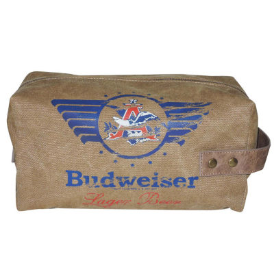 Budweiser Eagle Wings Single Zip Travel Kit