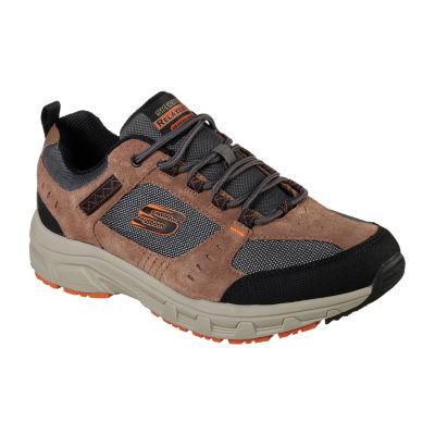 Skechers Mens Walking Shoes Lace-up