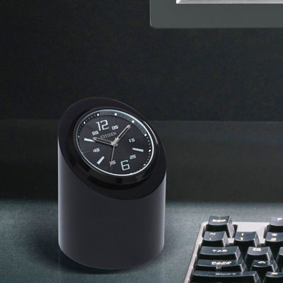 Citizen Black Table Clock-Cc1010