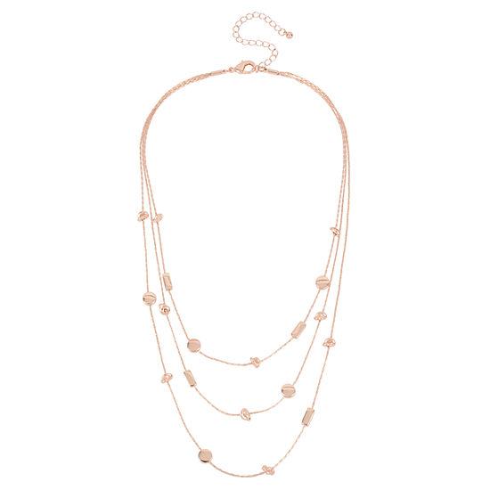 Worthington 16 Inch Illusion Necklace