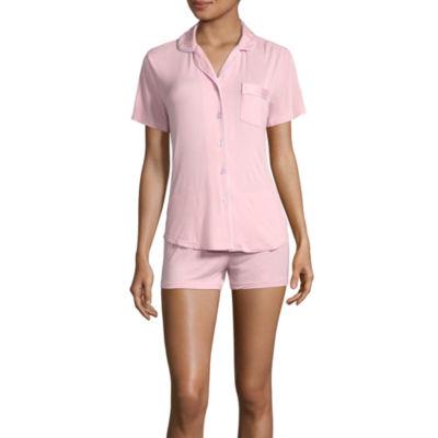 Pj Couture Notcho Trendy Shorts Pajama Set-Juniors