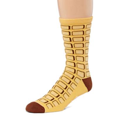 Cool Socks 1 Pair Crew Socks-Mens