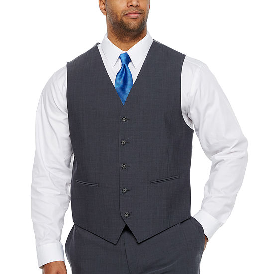 Claiborne - Big and Tall Classic Fit Suit Vest