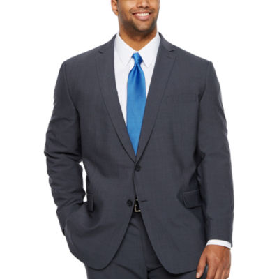 Claiborne-Big and Tall Slim Fit Suit Jacket