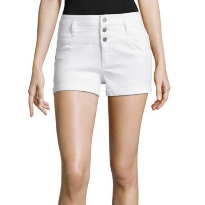 "Tinseltown 2 3/4"" Denim Shorts-Juniors"