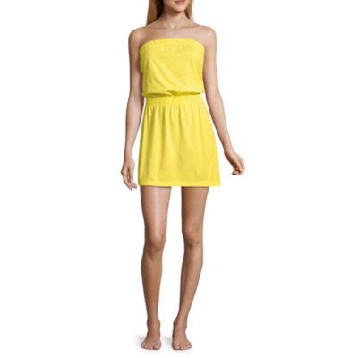 City Streets Strapless Dress - Juniors