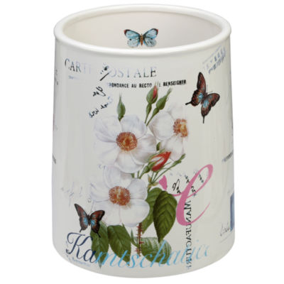 Creative Bath Botanical  Diary Waste Basket