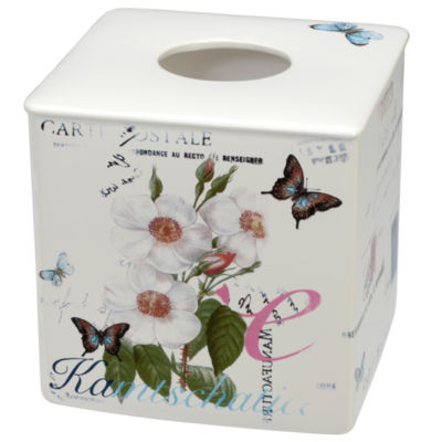 Creative Bath Botanical  Diary Tissue Box Cover