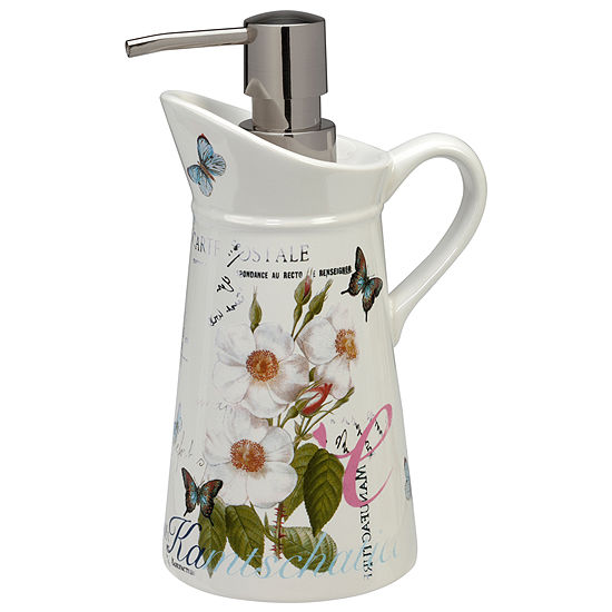 Creative Bath Botanical Diary Soap/Lotion Dispenser