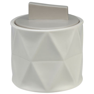 Creative Bath Triangles Bathroom Canister
