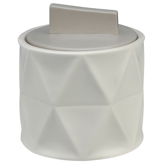 Creative Bath Triangles Bathroom Canister