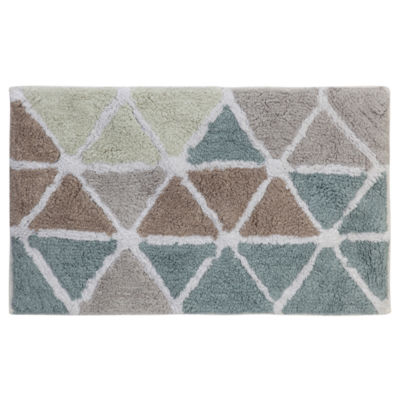 Creative Bath Triangles Bath Rug