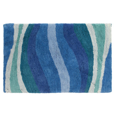 Creative Bath Wavelength Bath Rug
