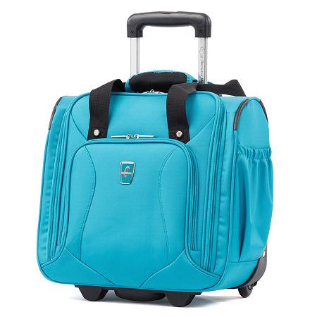 Atlantic Ultra Lite 14 Inch Lightweight Luggage, One Size , Blue