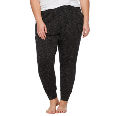 Ambrielle Knit Pajama Pants-Plus