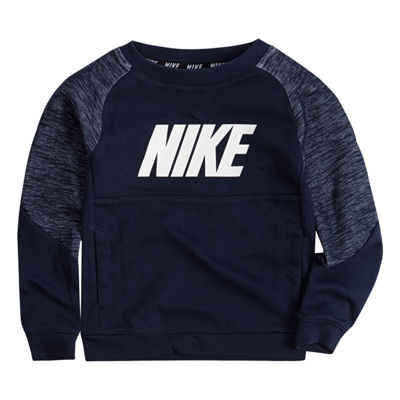 Nike Long Sleeve Sweatshirt - Preschool Boys