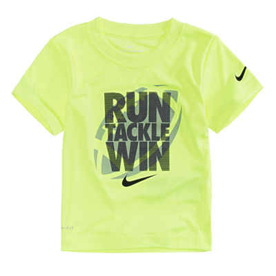 Nike Short Sleeve Crew Neck T-Shirt-Preschool Boys