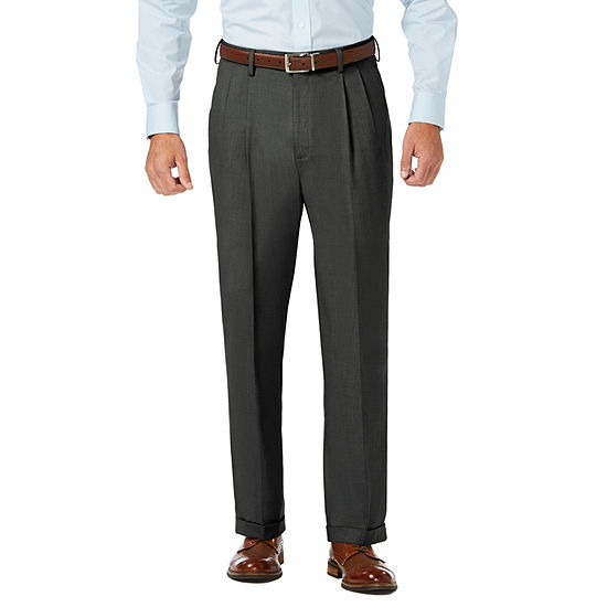 JM Haggar Classic Fit Pleated Dress Pant