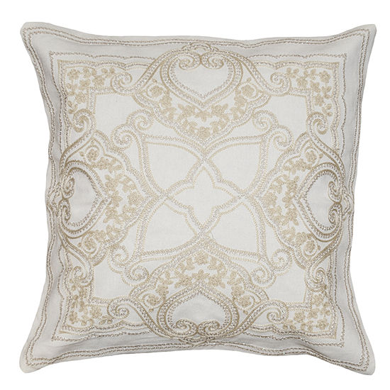 Opulent Square Throw Pillow