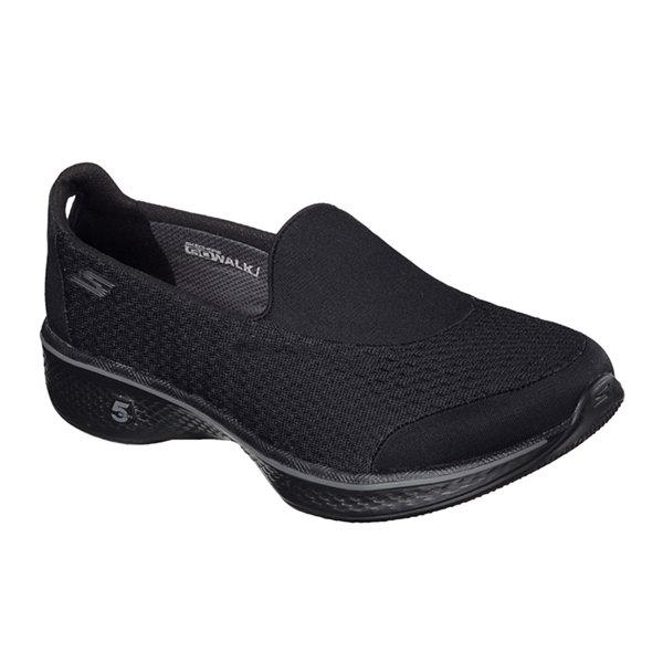 Womens Skechers Go Walk Athletic Slip On Tennis Shoes Sneakers Sz 8 Black