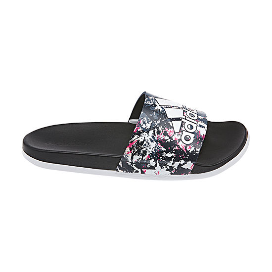 adidas Adilette Cloudfoam + GR Womens Slide Sandals