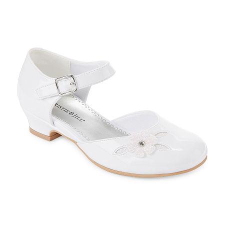 1920s Children Fashions: Girls, Boys, Baby Costumes Christie  Jill Heaven Girls Mary Jane Shoes - Little KidsBig Kids Size 11 Medium White $18.74 AT vintagedancer.com