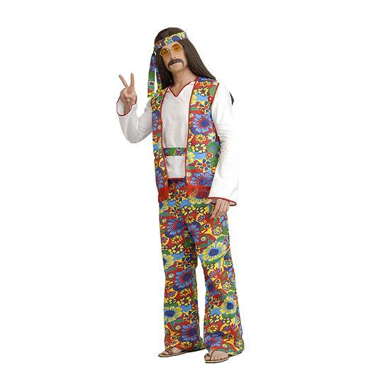 Hippie Man Adult Costume Unisex Costume