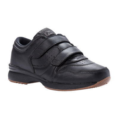 Propet Womens Xrs Wlkr Strp Oxford Shoes Hook and Loop Round Toe