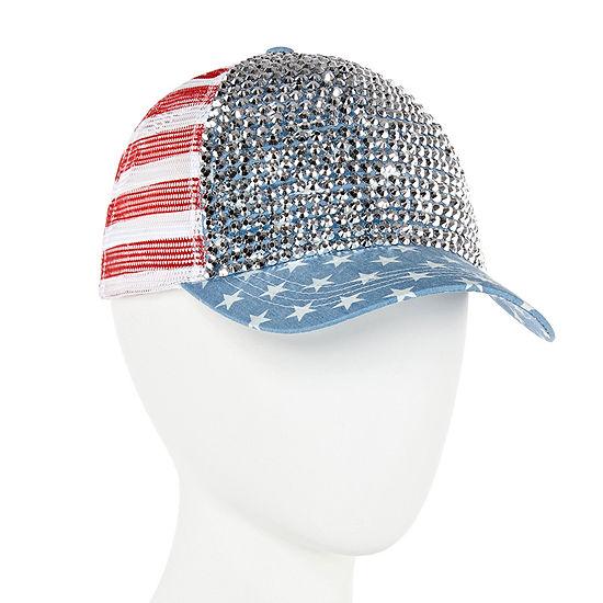 Mixit Bling Americana Baseball Cap