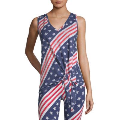 Mixit Americana Womens Tank Top