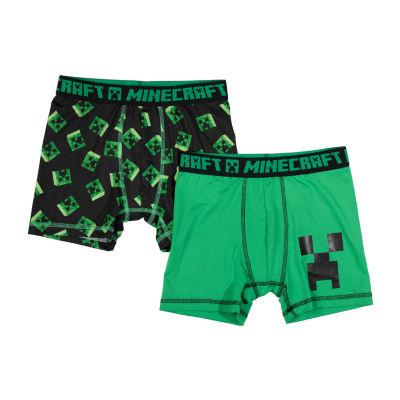Minecraft 2-Pair Boxer Briefs Boys